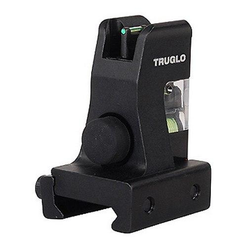 Backup Iron Sights - Truglo AR-15 Front Fiber Optic Gas Block  - TG115