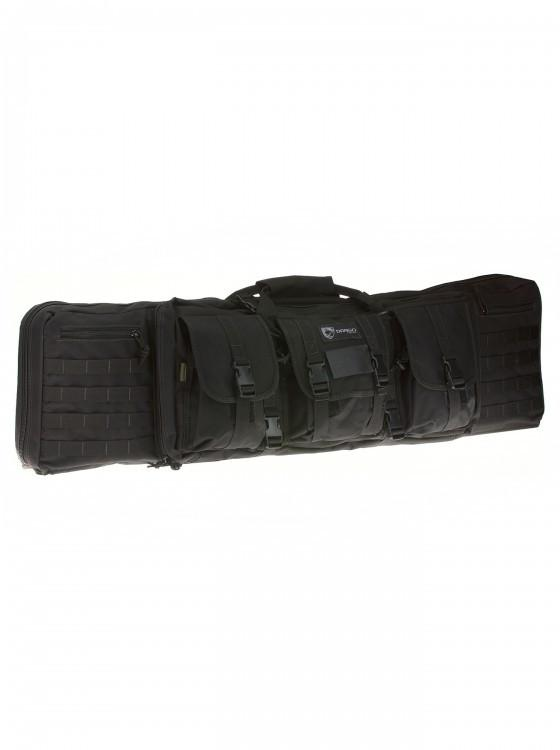 "Drago Gear 42"" Double Rifle Case - 4 Colors Available"