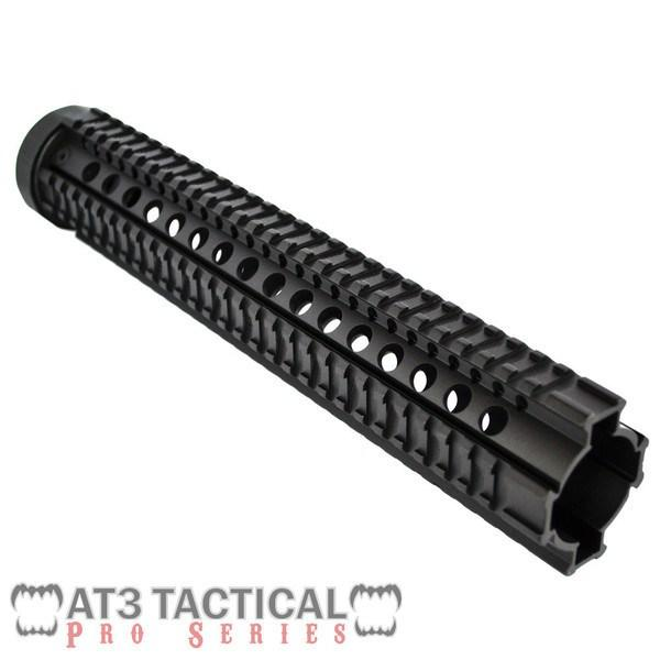 "Clearance - BLEMISHED - AT3 Tactical 12.5"" Rifle-Length Free Float Quad Rail Handguard - Pro Series"