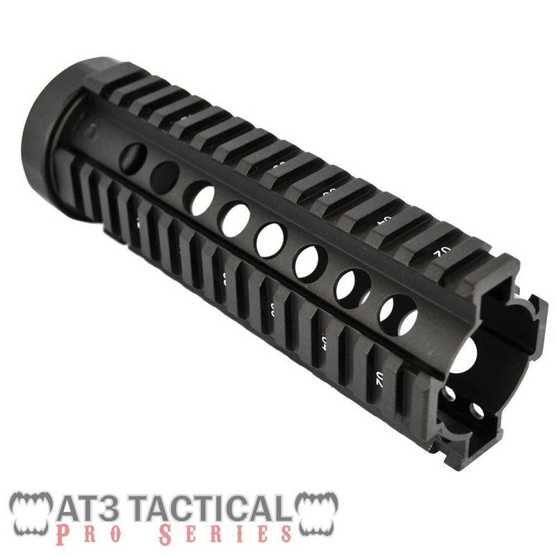 "Clearance - BLEMISHED - AT3 Tactical 7"" Carbine-Length Free Float Quad Rail Handguard - Pro Series"