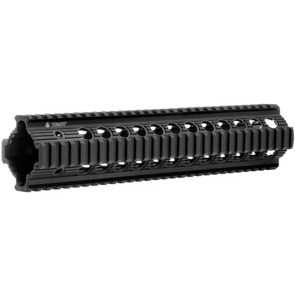 "Clearance - Troy Bravo Rail 11"" Free Float Quad Rail - BLACK"