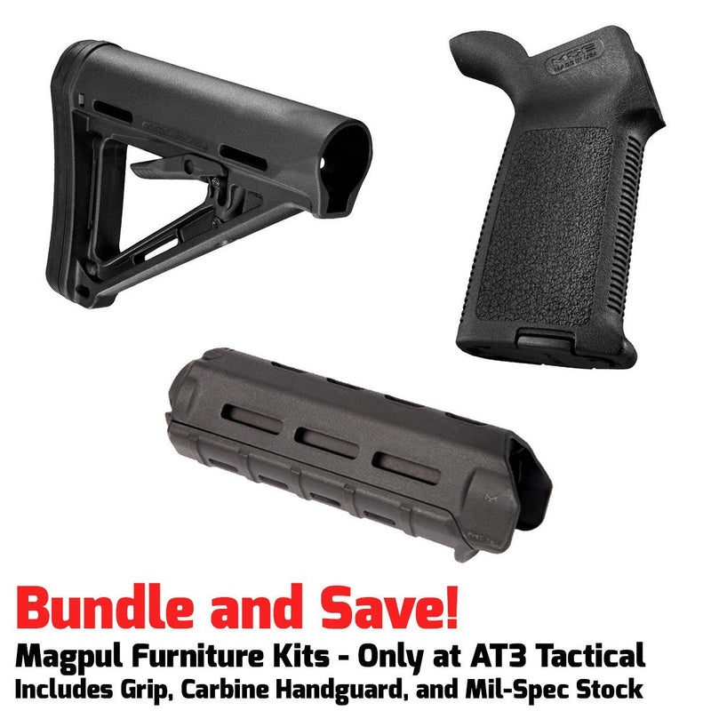 Furniture Kits - Magpul MOE M-LOK Furniture Kit - Stock, Carbine Handguard & Grip