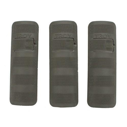 "Handguards & Quad Rails - Troy 4.4"" Battle Rail Cover - 3 Pack"