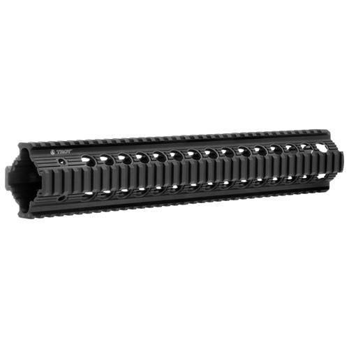 "Handguards & Quad Rails - Troy Bravo Rail 13"" Free Float Quad Rail"
