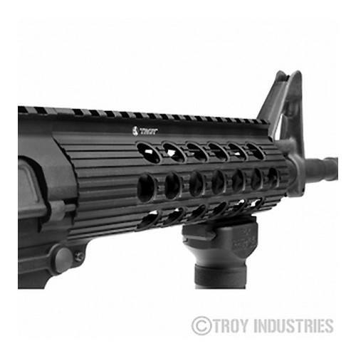"Handguards & Quad Rails - Troy TRX .308 Extreme BattleRail, 7.2"" Black - Armalite, DPMS HP, Or DPMS LP"