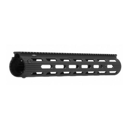 "Handguards & Quad Rails - Troy VTAC Alpha Rail 15"" - Black - Free Float Handguard"
