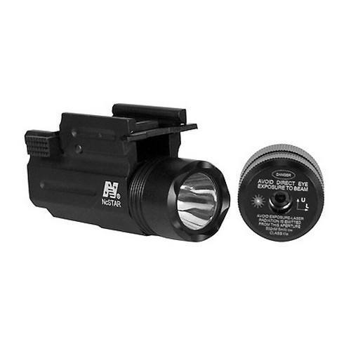 Lights & Lasers - NcStar Green Laser Sight With Flashlight And Quick Release Mount - AQPTFLG