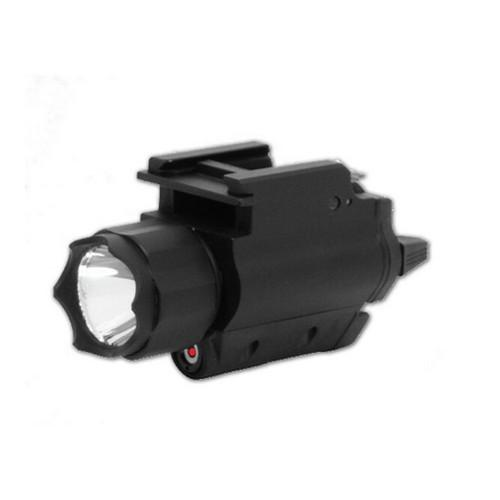 Lights & Lasers - NcStar Red Laser Sight With 3W Light Combo - AQPFLS