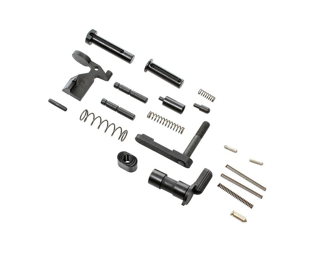 Lower Receiver Parts - CMMG Gunbuilder's Kit - AR-15 Lower Receiver Parts Kit W/o Fire Control Group Or Grip