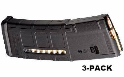 Magazines & Parts - 3-Pack - Magpul PMAG 30-Round M2 MOE Window Mag - .223 / 5.56 NATO