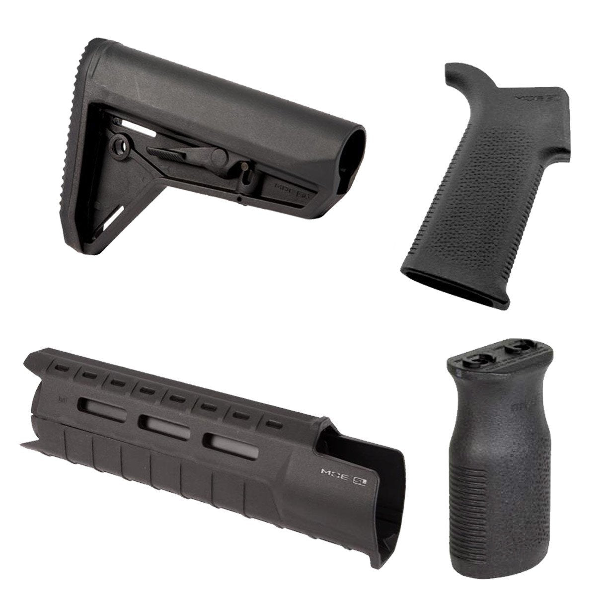 Magpul MOE SL™ SLIM LINE Furniture Kit   Stock, Grip U0026 M LOK