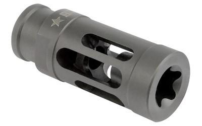Muzzle Devices - Bravo Company Compensator Extended Length Flash Hider MOD1 - Black - .223/5.56 AR Rifles - BCM-GFC-MOD-1-556