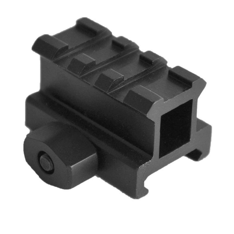 Optic Mounts - AT3 Tactical Mini Riser Mount - 2 Heights Available -  .83 Or 1 Inch - 3 Picatinny Slots