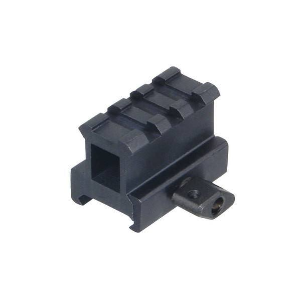 Optic Mounts - UTG High Profile 1 Inch Riser Mount - 3 Picatinny Slots - MNT-RS10S3