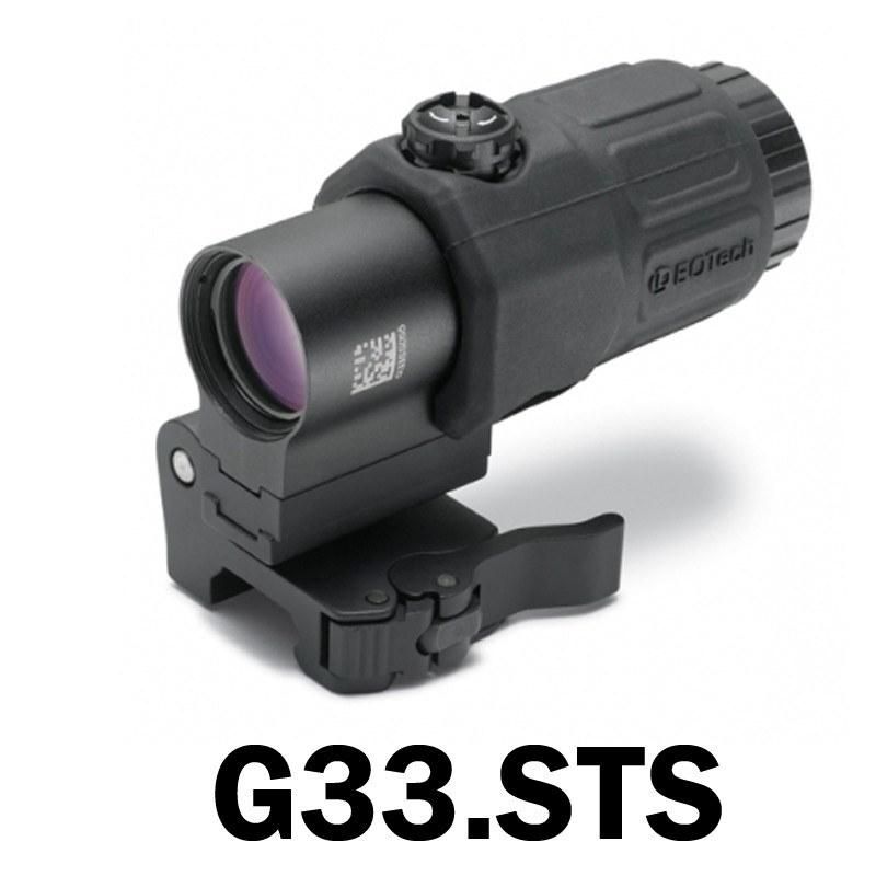 Red Dot Sights - Eotech G33 3X Slap-to-Side Magnifier - Black Or Tan
