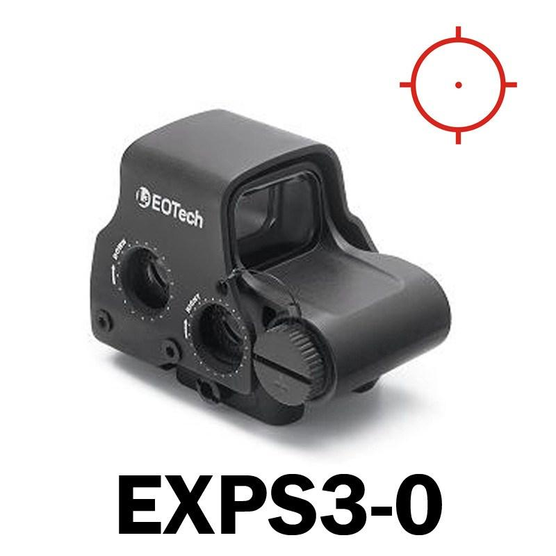 Red Dot Sights - Eotech Holographic Sight EXPS3 - Three Reticle Options - CR123 Batt - QD Riser Mount - NV Compatible