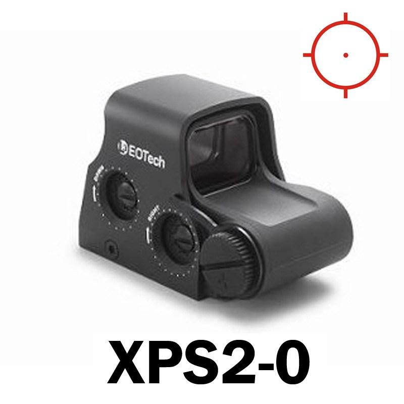 Red Dot Sights - Eotech Holographic Sight XPS2 - Three Reticle Choices - CR123 Batt - Std Mount