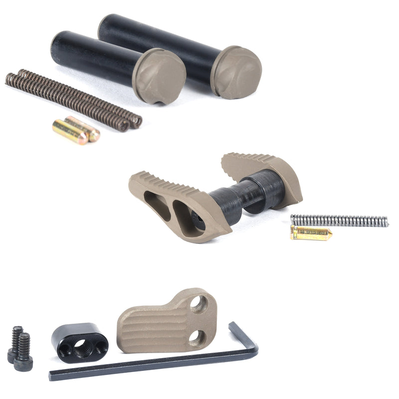 Timber Creek Outdoors Small Parts Pack - Ambidextrous Safety, Extended Mag Release, and Takedown/Pivot Pins