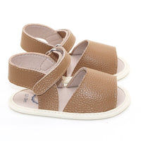 Stormi Leather Sandal Tan