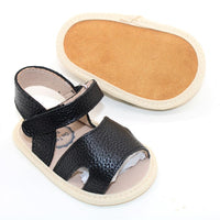 Tulli Leather Sandal Black
