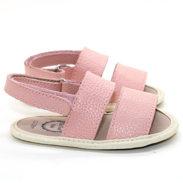 Franki Leather Sandal Pink