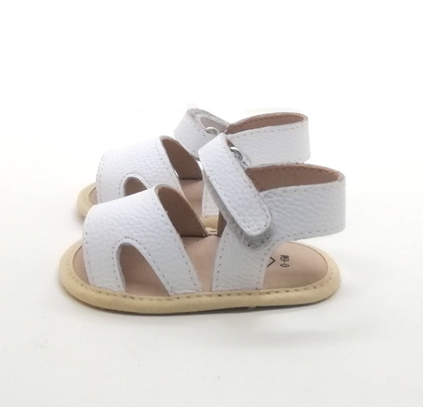Tulli Leather Sandal White