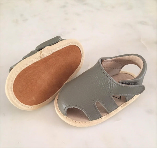 Scout Leather Sandal Grey