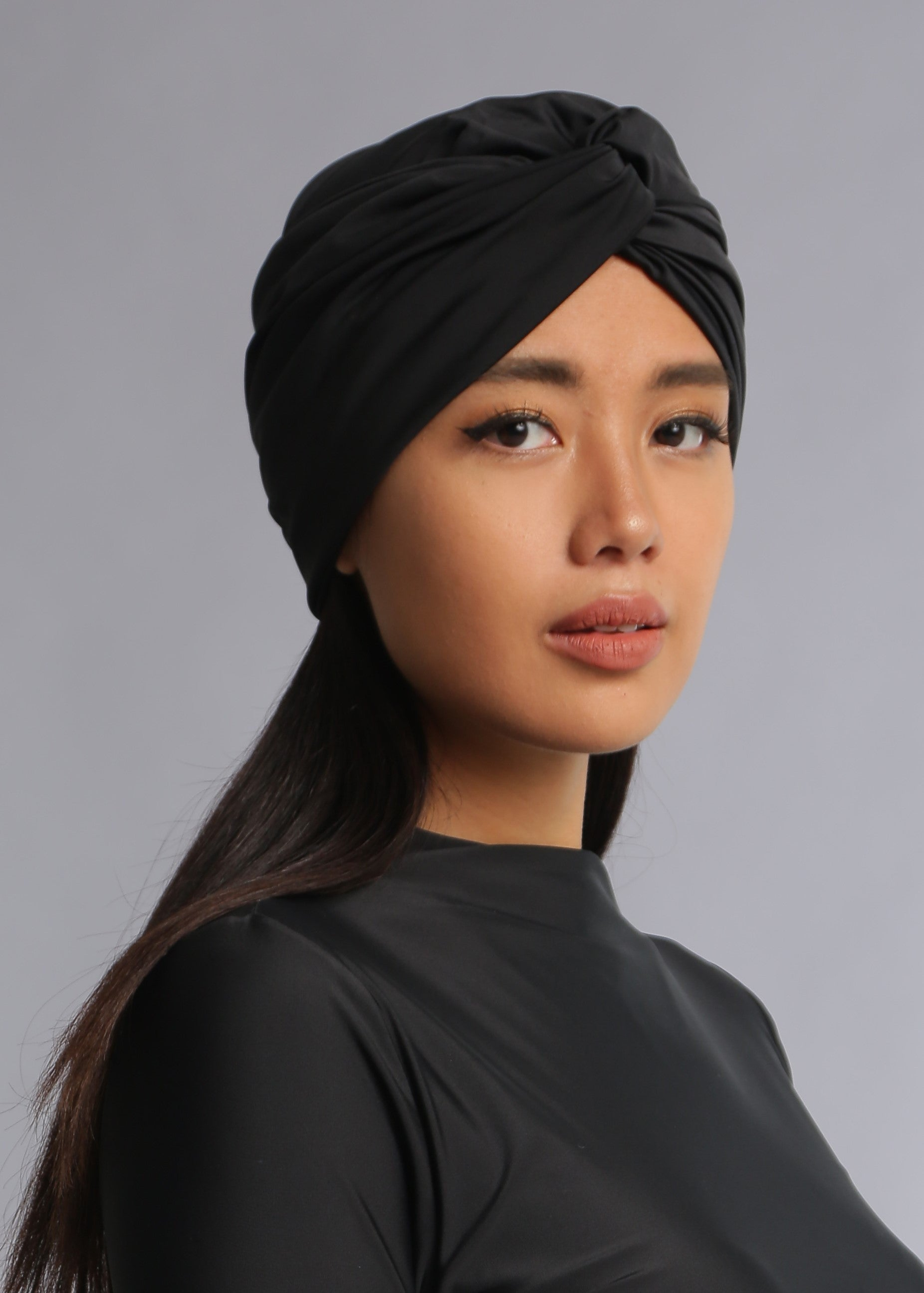 Swim Turban - Black