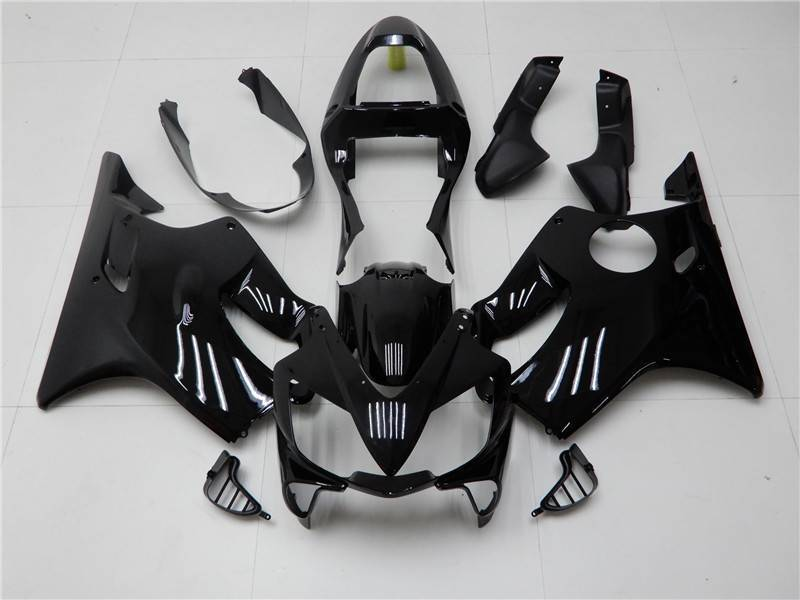 NT Aftermarket Injection ABS Plastic Fairing Fit for CBR600 F4i 2001-2003 Glossy Black N011 Available in CA, TX, KY