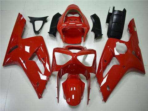 NT Aftermarket Injection ABS Plastic Fairing Fit for ZX6R 636 2003-2004 Red N012 Available in TX IL