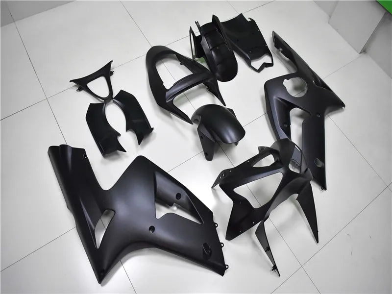 NT Aftermarket Injection ABS Plastic Fairing Fit for ZX6R 636 2003-2004 Matte Black N013