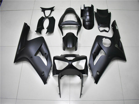 NT Aftermarket Injection ABS Plastic Fairing Fit for ZX6R 636 2003-2004 Matte Black N013 Available in TX