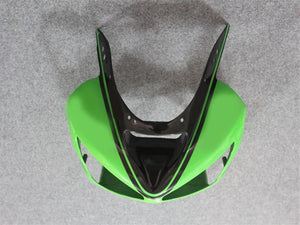 NT Aftermarket Injection ABS Plastic Fairing Fit for ZX6R 636 2003-2004 Green Black N001