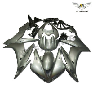 NT Aftermarket Injection ABS Plastic Fairing Fit for YZF R1 2004-2006 Silver N088