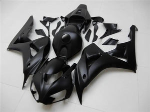 NT Aftermarket Injection ABS Plastic Fairing Fit for CBR1000RR 2006-2007 Black N047
