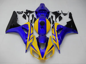 NT Aftermarket Injection ABS Plastic Fairing Fit for CBR1000RR 2006-2007 Yellow Blue N111