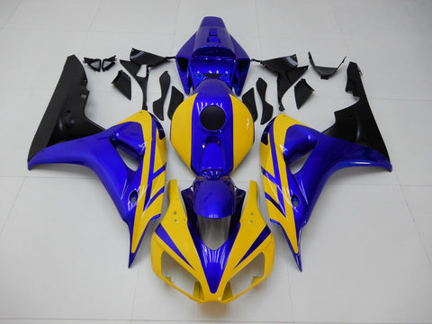 NT Aftermarket Injection ABS Plastic Fairing Fit for CBR1000RR 2006-2007 Yellow Blue N111 Available in IL