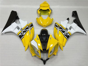 NT Aftermarket Injection ABS Plastic Fairing Fit for YZF R6 2006-2007 Yellow White Black N039