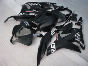 NT Aftermarket Injection ABS Plastic Fairing Fit for CBR600RR 2007-2008 Black N014 Available in IL