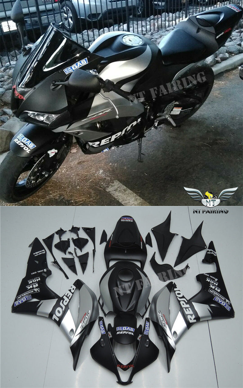 NT Aftermarket Injection ABS Plastic Fairing Fit for CBR600RR 2007-2008 Multiple Color Choices