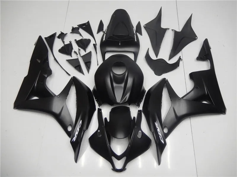 NT Aftermarket Injection ABS Plastic Fairing Fit for CBR600RR 2007-2008 Matte Black N070 Available in KY