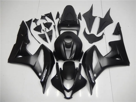 NT Aftermarket Injection ABS Plastic Fairing Fit for CBR600RR 2007-2008 Matte Black N070