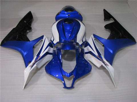 NT Aftermarket Injection ABS Plastic Fairing Fit for CBR600RR 2007-2008 Blue White Black N076
