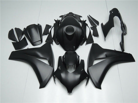 NT Aftermarket Injection ABS Plastic Fairing Fit for CBR1000RR 2008-2011 Matte Black N008