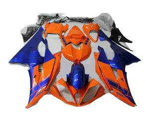 NT Aftermarket Injection ABS Plastic Fairing Fit for YZF R6 2008-2016 Orange Blue N0002