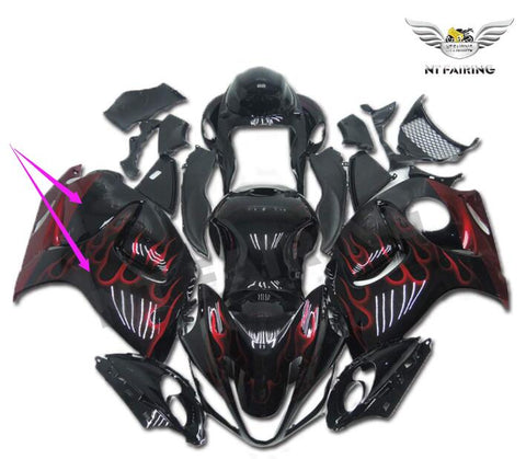 NT Aftermarket Injection ABS Plastic Right Side Fairing Fit for GSXR 1300 Hayabusa 2008-2016