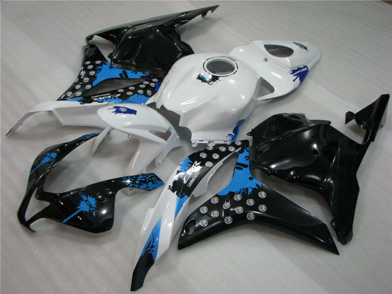 NT Aftermarket Injection ABS Plastic Fairing Fit for CBR600RR 2009-2012 Black White Blue N011