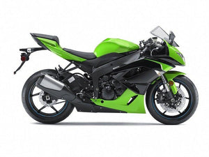 NT Aftermarket Injection ABS Plastic Fairing Fit for ZX6R 636 2009-2012 Green Black N009