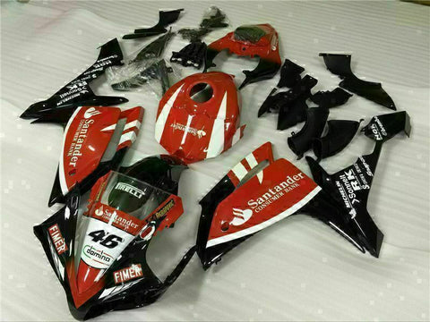 MSB Injection New Red Plastic Fairing Fit for Yamaha 2007-2008 YZF R1 g0YXHG-007