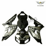 MS Injection Molded Silver Black Fairing Fit for Honda 2006-2007 CBR1000RR u092